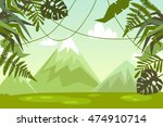 landscape. nature. vector... | Shutterstock .eps vector #474910714