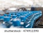 water factory   water bottling... | Shutterstock . vector #474911590