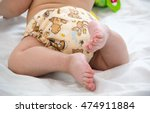 diaper cloth baby hygiene baby... | Shutterstock . vector #474911884