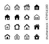 home icons set  homepage  ...