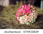 White And Pink Bouquet Yin Yang ...