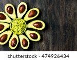 Avocado. Flower Made From...