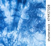 Small photo of The fabric is indigo dye use as background,Local fabric