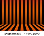 stripe room halloween  | Shutterstock .eps vector #474931090