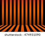 stripe room halloween  | Shutterstock .eps vector #474931090