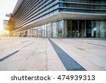 empty brick floor front of... | Shutterstock . vector #474939313