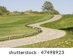golf course in springtime at... | Shutterstock . vector #47498923