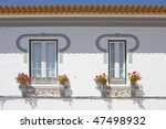 detail of two windows on a... | Shutterstock . vector #47498932