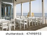 tables and chairs in stylish...   Shutterstock . vector #47498953