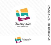 abstract furniture logo design...