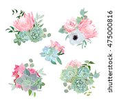 Stylish Small Bouquets Of...