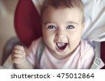 closeup portrait of a happy... | Shutterstock . vector #475012864