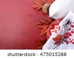 canada red and white theme... | Shutterstock . vector #475015288