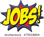 jobs | Shutterstock .eps vector #475018804