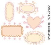set of funny banners | Shutterstock .eps vector #47502400