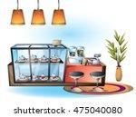 cartoon vector illustration... | Shutterstock .eps vector #475040080