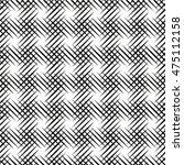 seamless pattern. monochrome.... | Shutterstock .eps vector #475112158