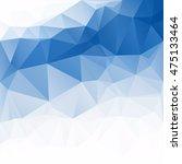 blue polygonal mosaic