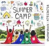 Summer Kids Camp Adventure Explore - Fine Art prints