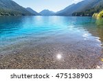 Lake Crescent at Olympic National Park, Washington, USA