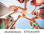 down view image of a group of... | Shutterstock . vector #475141459