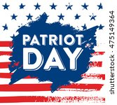 9 11 patriot day background ... | Shutterstock .eps vector #475149364