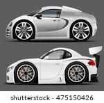 sports car | Shutterstock .eps vector #475150426