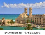 View Of  Molfetta Old Town  Th...