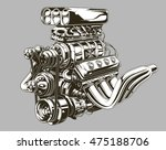 a vector illustration of... | Shutterstock .eps vector #475188706