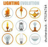 Lighting Elements Icon Set....