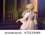 Victorian Lady. Young Woman In...