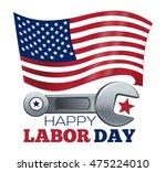 labor day design. poster design ... | Shutterstock . vector #475224010