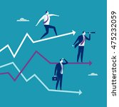 growth  stability  decline.... | Shutterstock .eps vector #475232059