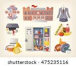 back to school elements | Shutterstock .eps vector #475235116