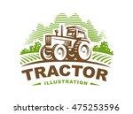 Tractor Logo Illustration ...