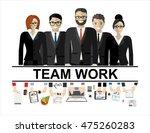 flat design illustration... | Shutterstock .eps vector #475260283