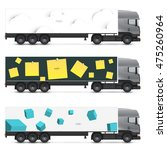 set of templates for transport. ...   Shutterstock .eps vector #475260964