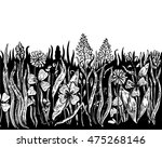 background with hand drawn... | Shutterstock .eps vector #475268146