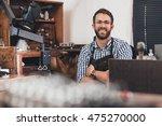 he's a master jewelry designer | Shutterstock . vector #475270000