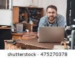 integrating technology and... | Shutterstock . vector #475270378