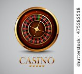 roulette in the casino | Shutterstock .eps vector #475283518