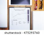 businessman or fund manager... | Shutterstock . vector #475293760