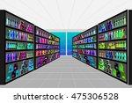 concept illustration for shop.... | Shutterstock .eps vector #475306528