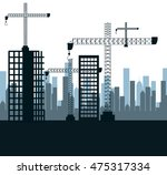 city under construction... | Shutterstock .eps vector #475317334