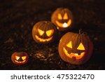 halloween jack o lantern... | Shutterstock . vector #475322470