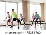 fitness  sport  training and... | Shutterstock . vector #475356760