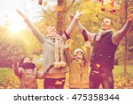 family  childhood  season and... | Shutterstock . vector #475358344