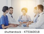 hospital  profession  people... | Shutterstock . vector #475360018