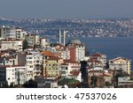 view from galata tower to ... | Shutterstock . vector #47537026