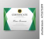 Certificate Template Awards...